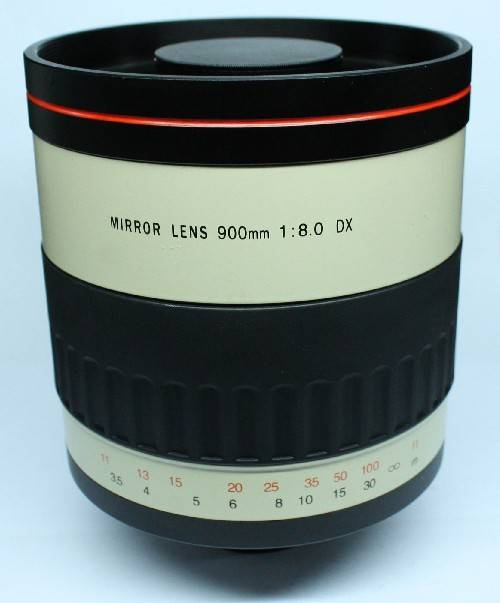 High Definition 900mm Camera Lenses With Mirror Lenses for Canon Eos 600d