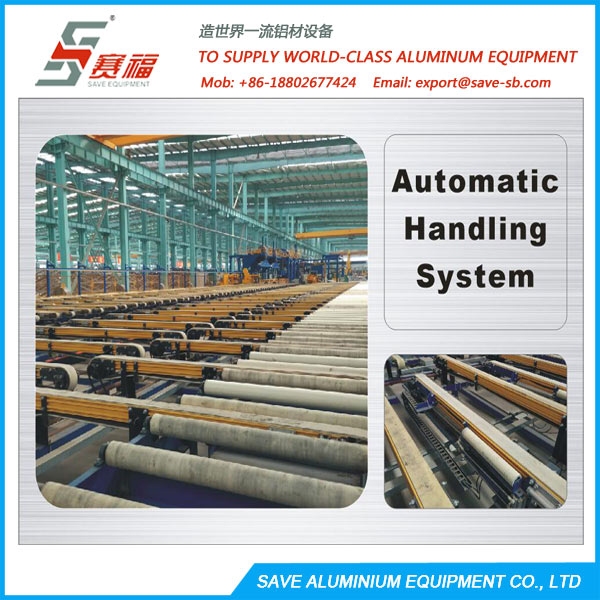 Aluminium Extrusion Profile Belt Type Run Out Transfer Table