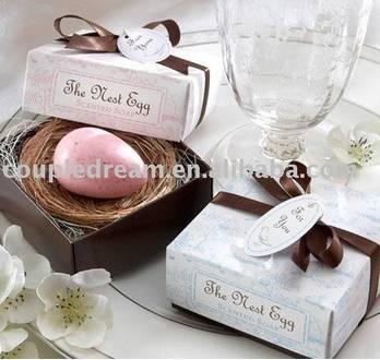 Egg Wedding Soap Favor