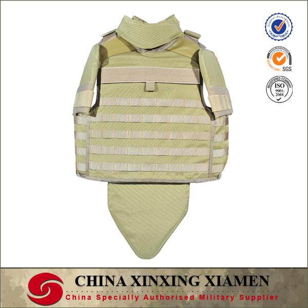 Desert Full body armor Bulletproof vest for safe