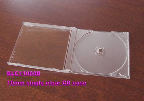 10.4MM JEWEL CD CASE WITH CLEAR TARY SINGLE/ DOUBLE