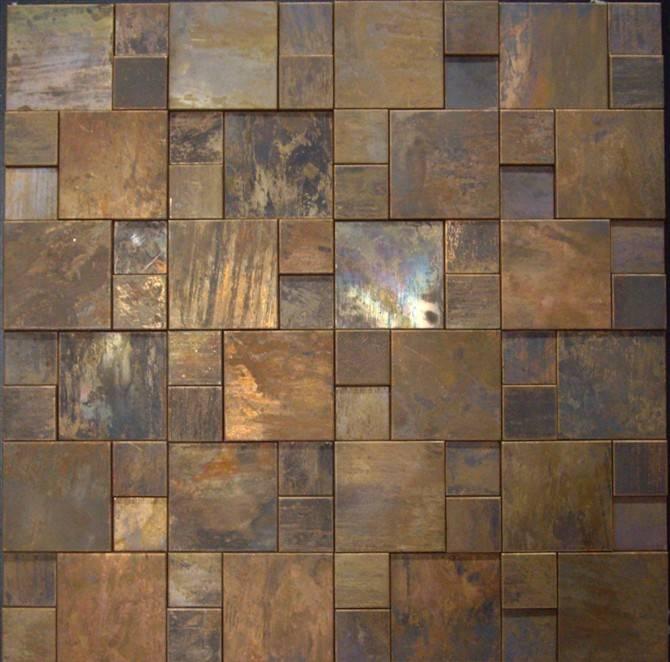 Antique copper tile MA002