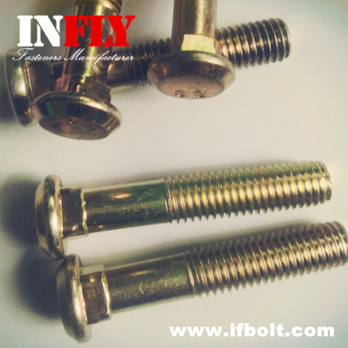 Flat Head Carriage Bolt DIN608 Countersunk Head Square Neck Bolts GB10-Infly Fasteners Manufacturers