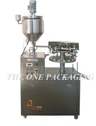 TOSF-25A Semi-automatic Metal Tube Filler and Sealer
