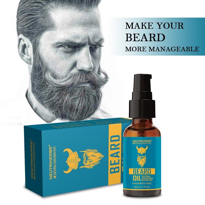 Men's Beard Growth Oil - Neutriherbs