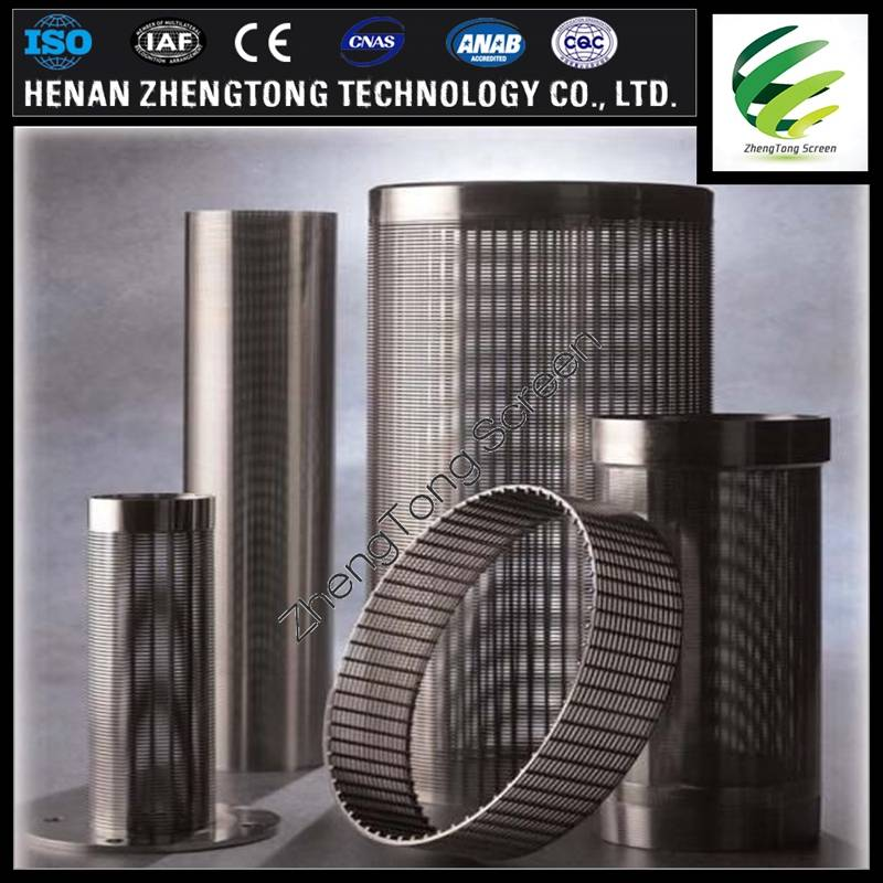 For mining wedge wire screen