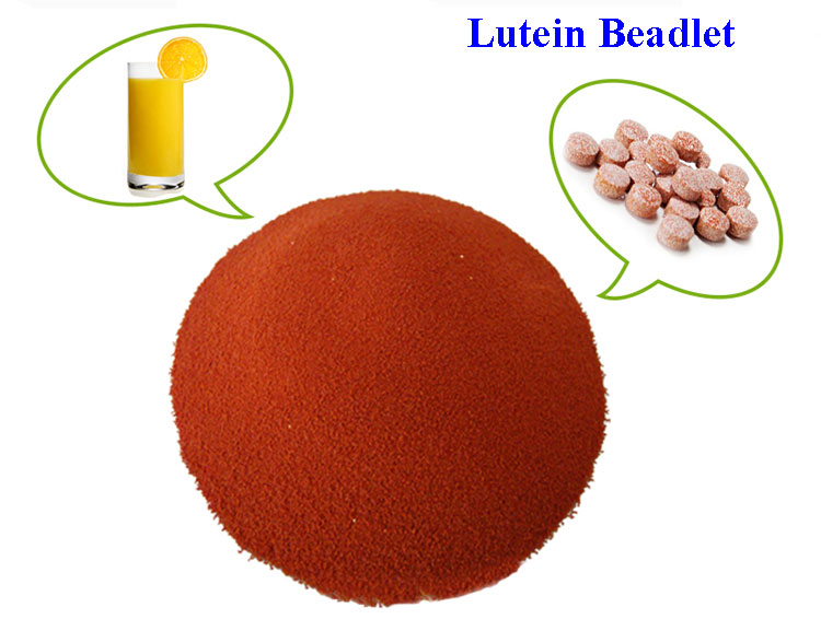 Lutein 1% powder 5% beadlet 10% beadlet 20% oil suspension 80% 90% crystal