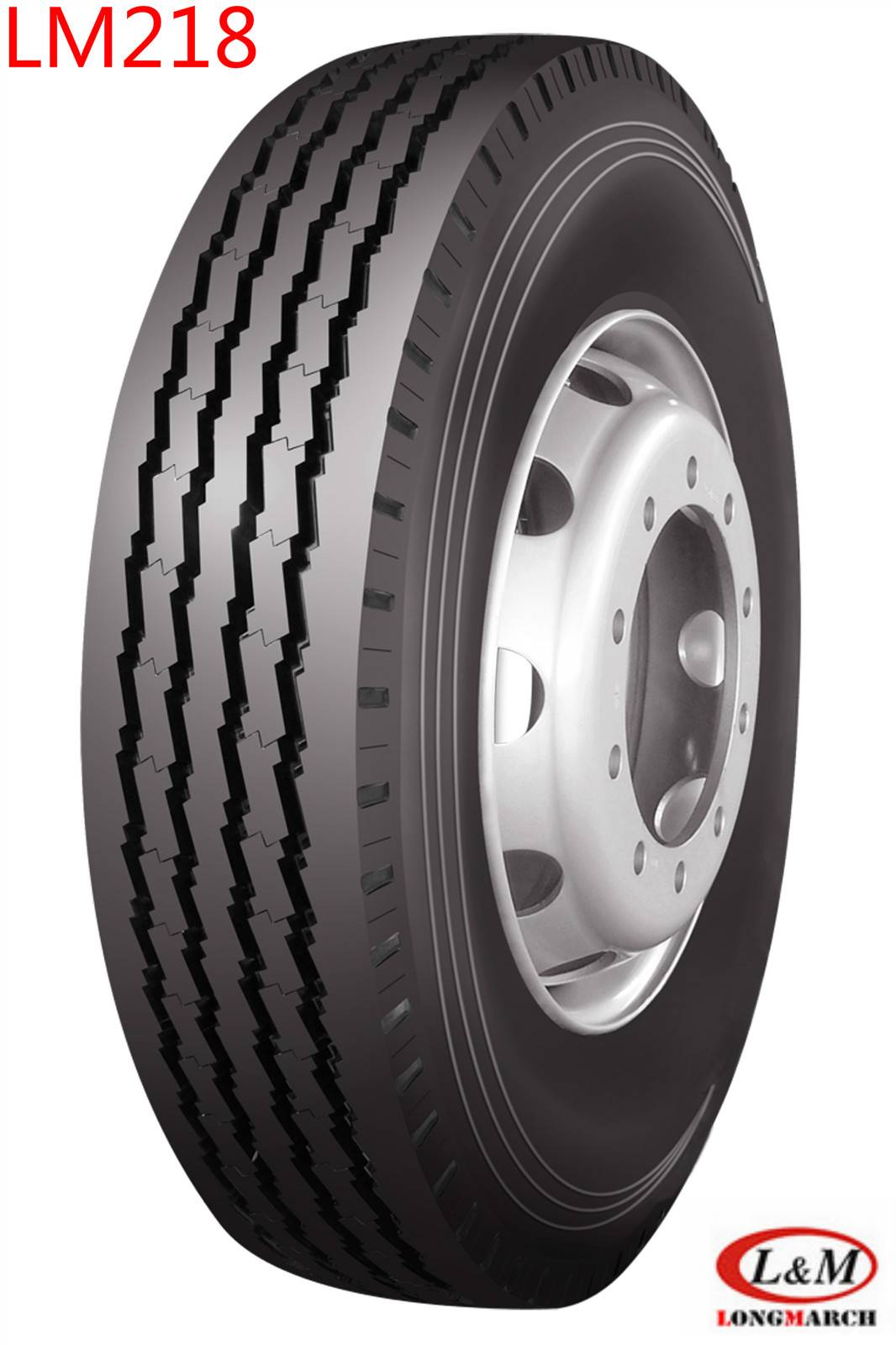 Long March All Position Highway Service Radial Truck Tire (LM218)