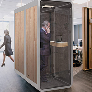 Acoustic Soundproof Booth for Simultaneous Interpretation