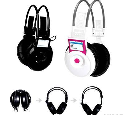 z-860ii-Wireless Headphone for iPod New/Old Nano