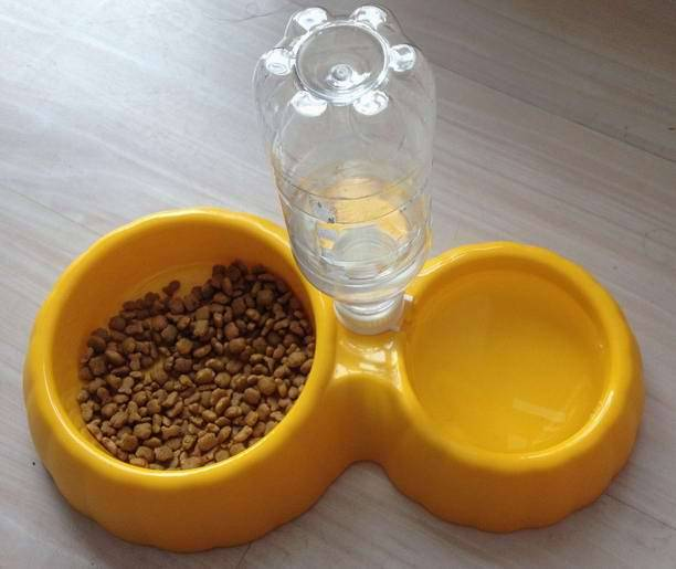 Automatic Pet Dog Water Dispensed Feed Bowl