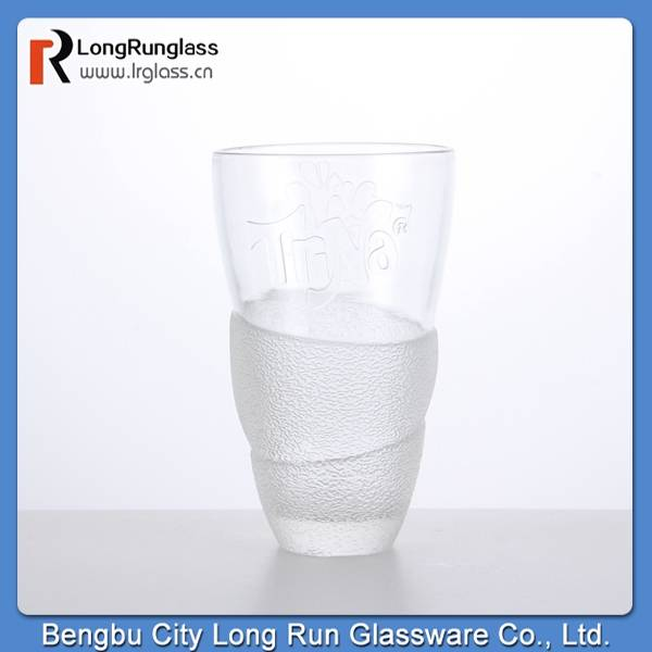 LongRun world cup 2015 creative design heat -resistant hot drinks glass tumbler