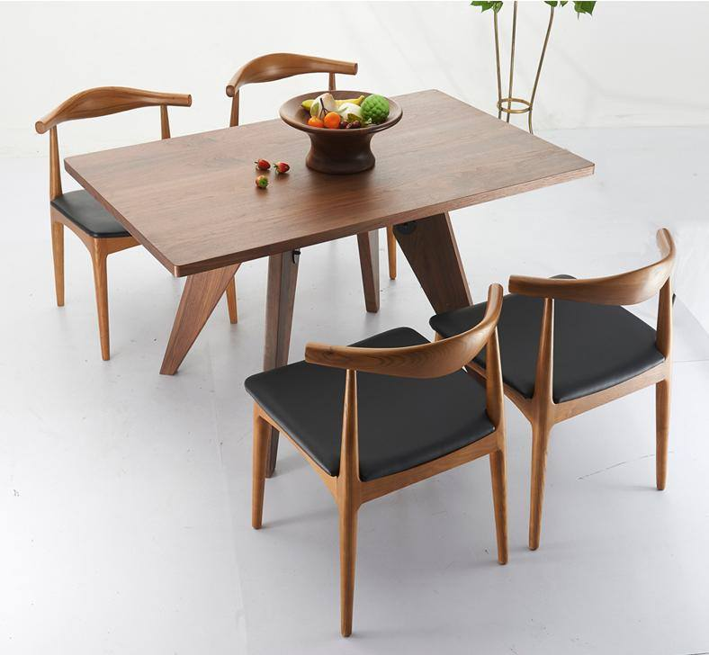 Asian style furniture set with MDF table top