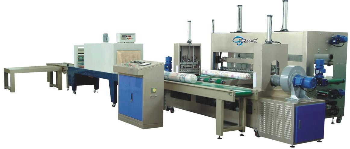 Automatic Fabric Roll Packing Machine