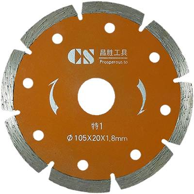 105mmDry hanging piece Diamond Saw Blade