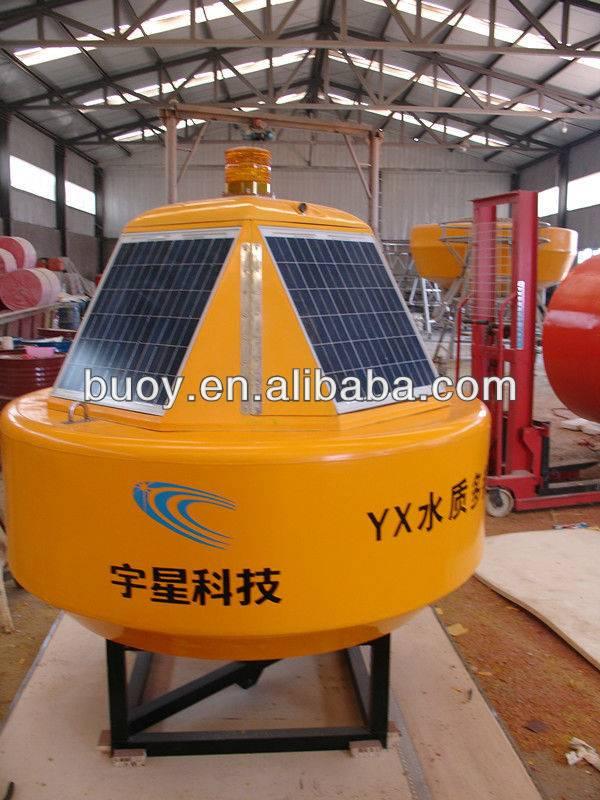 Hydrologic monitoring buoy