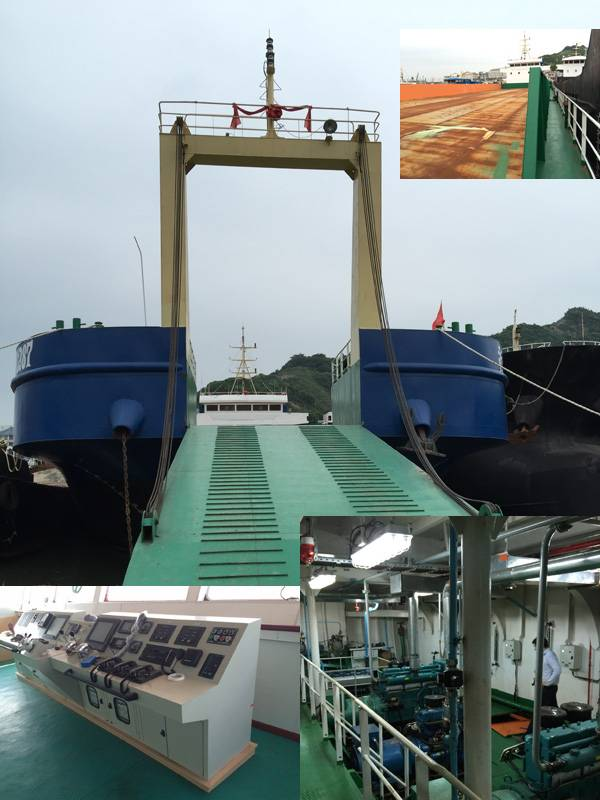 New 75 M 2385 DWT LCT barge for sale
