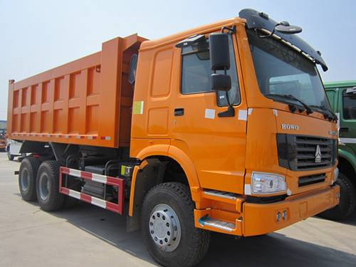 CNHTC howo 30 cubic meters dump truck and tipper truck capacity