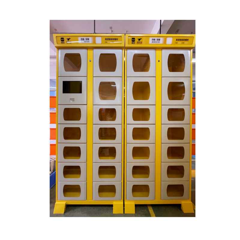 Smart Self-service meal pickup Cabinet outdoor stainless steel cabinets