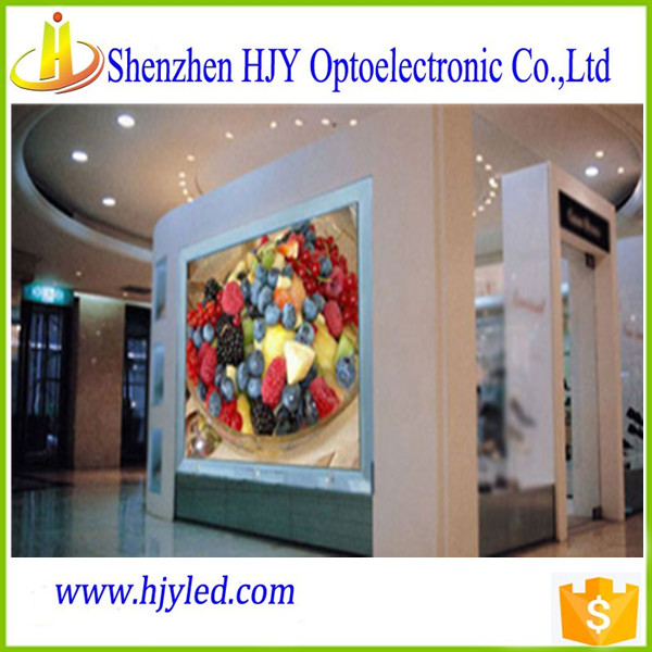 indoor full color P4 led video wall advertising led display