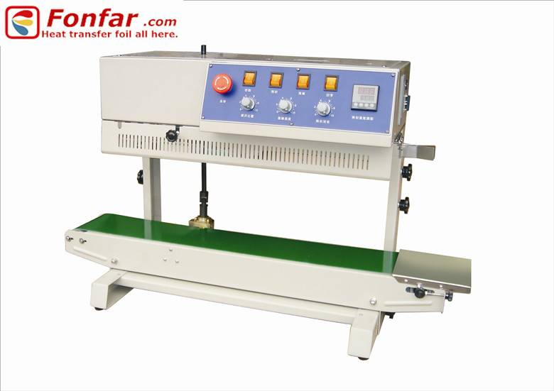 FFM810 Vertical Sealing and Coding Machine with Hot Ink Ribbon
