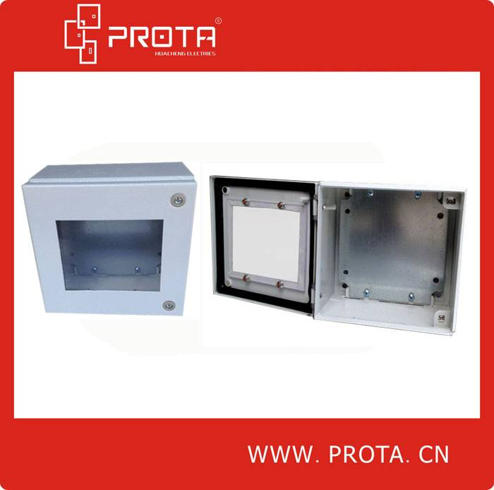 Metal Junction Box With Glass Window