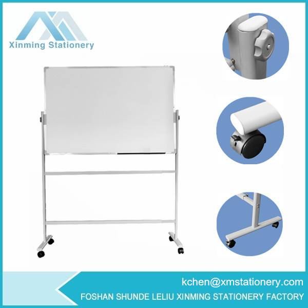 Oval Double Tubes Magnetic Whiteboard Stand