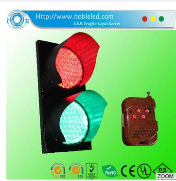 high quality 200mm LED remote control traffic light