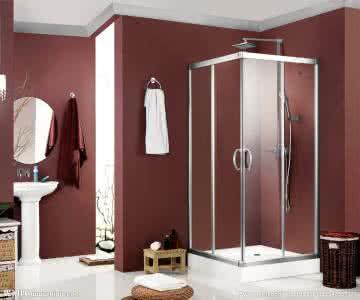 Free Standing Glass Shower Enclosure,Simple Shower Room Glass Barthroom
