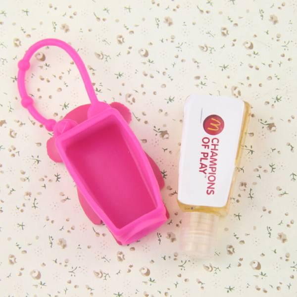 Customize Silicone Hand Sanitizer Bottle Holder