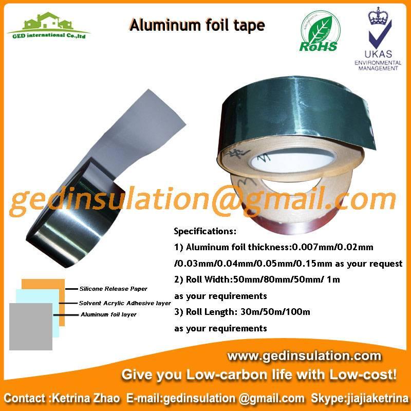 aluminum foil tape/foil adhesive tape