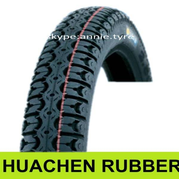 Motorcycle Tubeless Tyre 110/90-16 2.75-18