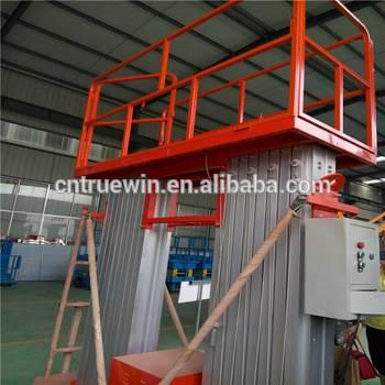 6m man lift aluminum  lift platform