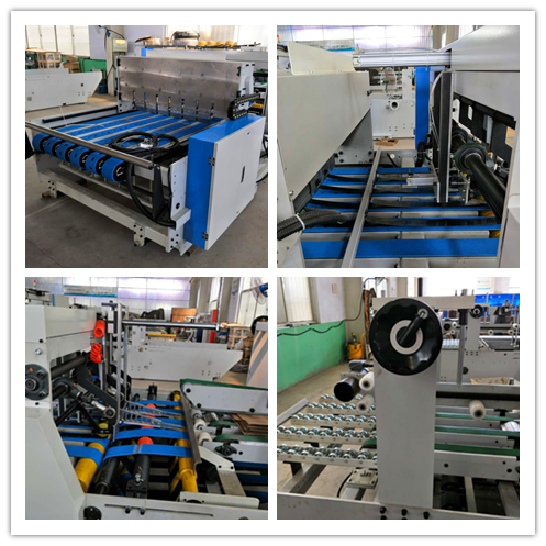Folder Gluer Full Automatic Bottom Folding QZ1227A