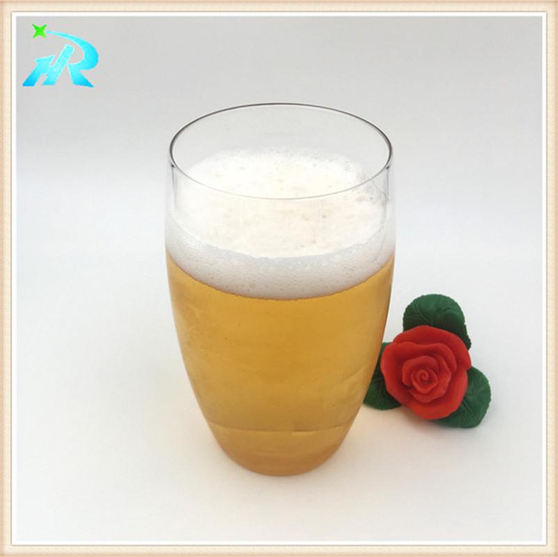 Reusable bulk beer glass plastic beer drinking glasses