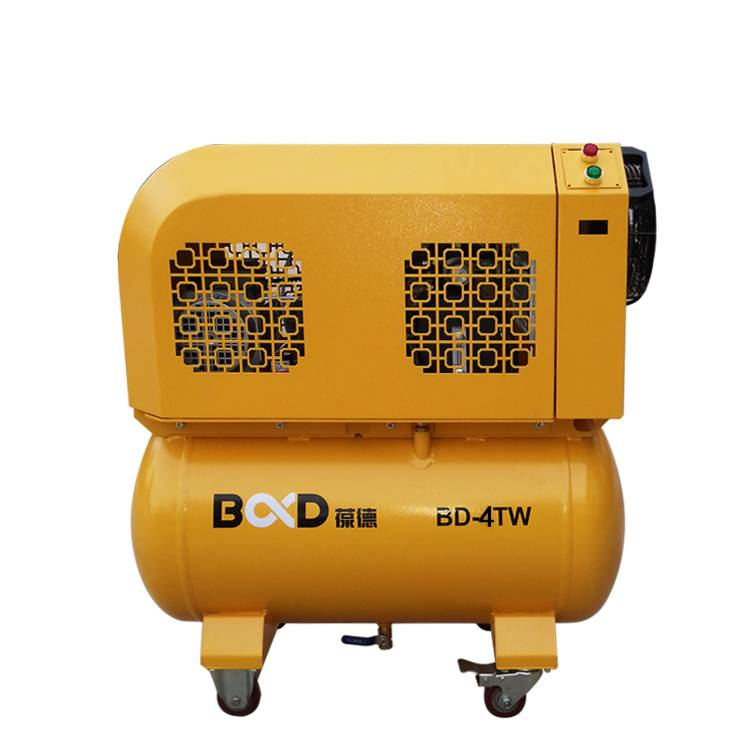 Portable scroll air compressor BD-4TW