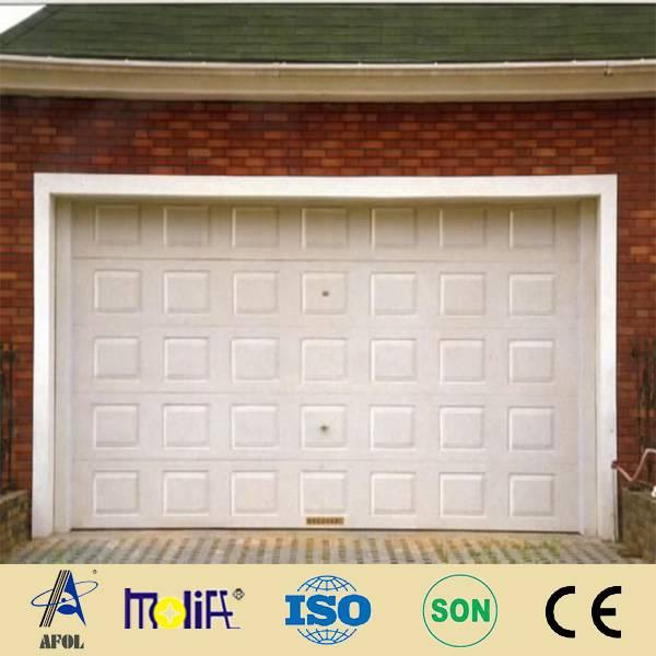 AFOL modern sectional garage door