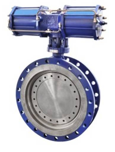 Pneumatic Butterfly Valve with High Pressure Butterfly Valve