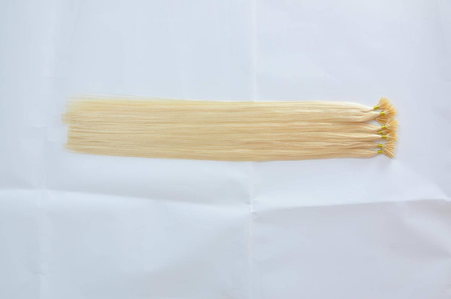 100% virgin remy human hair stick I tip human hair extension