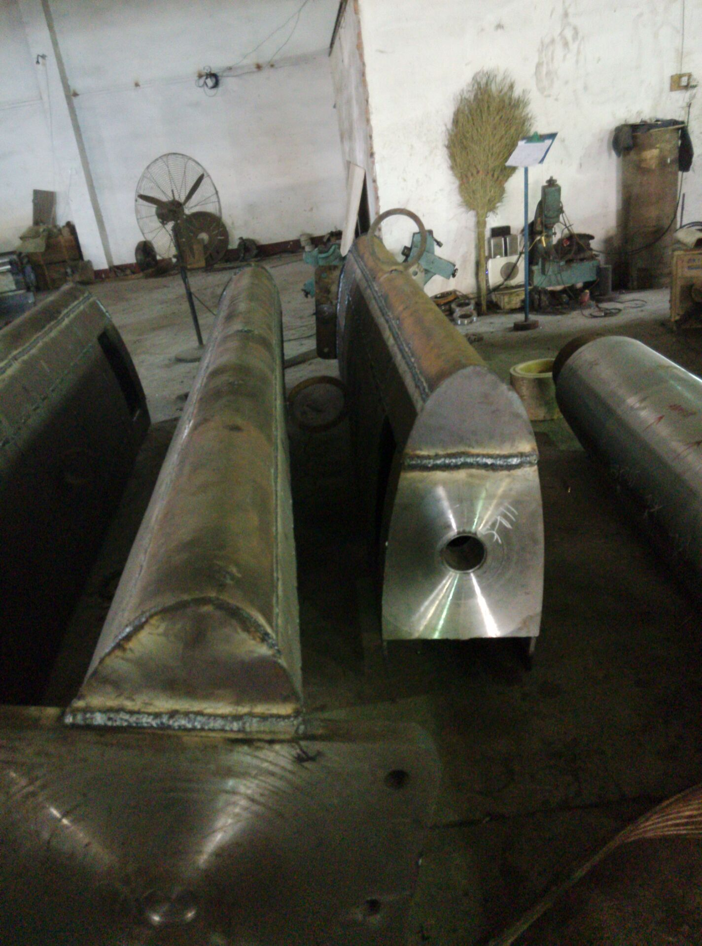 Marine forged steel Rudder blade rudder blade for rudder fittings
