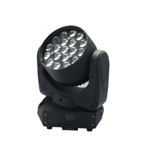 Cheap goods China Zoom 19pcs * 15w rgbw 4in1 led mini beam wash moving head stage light for disco dj