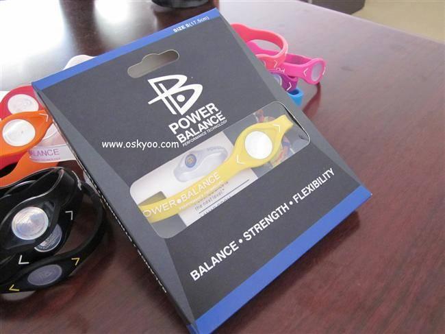 Customized Hologram Power balance bracelet with Your Brand Logo