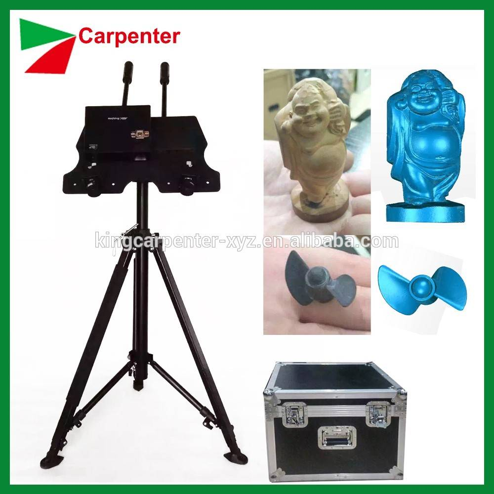 high speed 3d scanner with 3d scanner price for making flate drawing and 3D drawing
