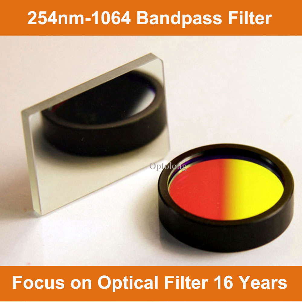 500nm Interference Optical Narrow Band pass Infrared Filters are used IR Thermal Imaging & Thermal S