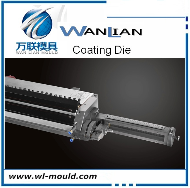 Special-purposed extrusion coating die/lamination mold for Liquid epoxy resin