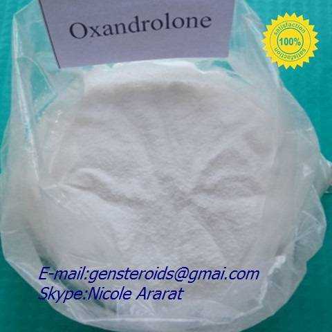 Anavar CAS 53-39-4 Injectable Muscle Growth Steroids Medical Raw Powder