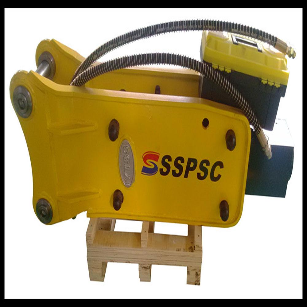 68mm chisel top type hydraulic demolition hammer