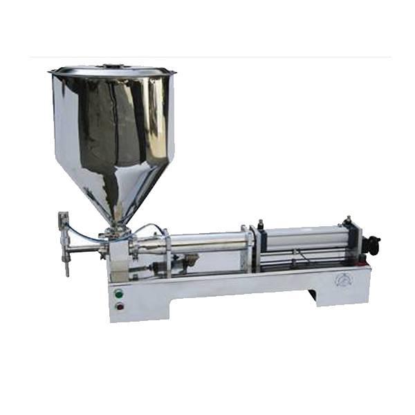 G1WGD single nozzle pneumatic paste&liquid filling machine for jam.