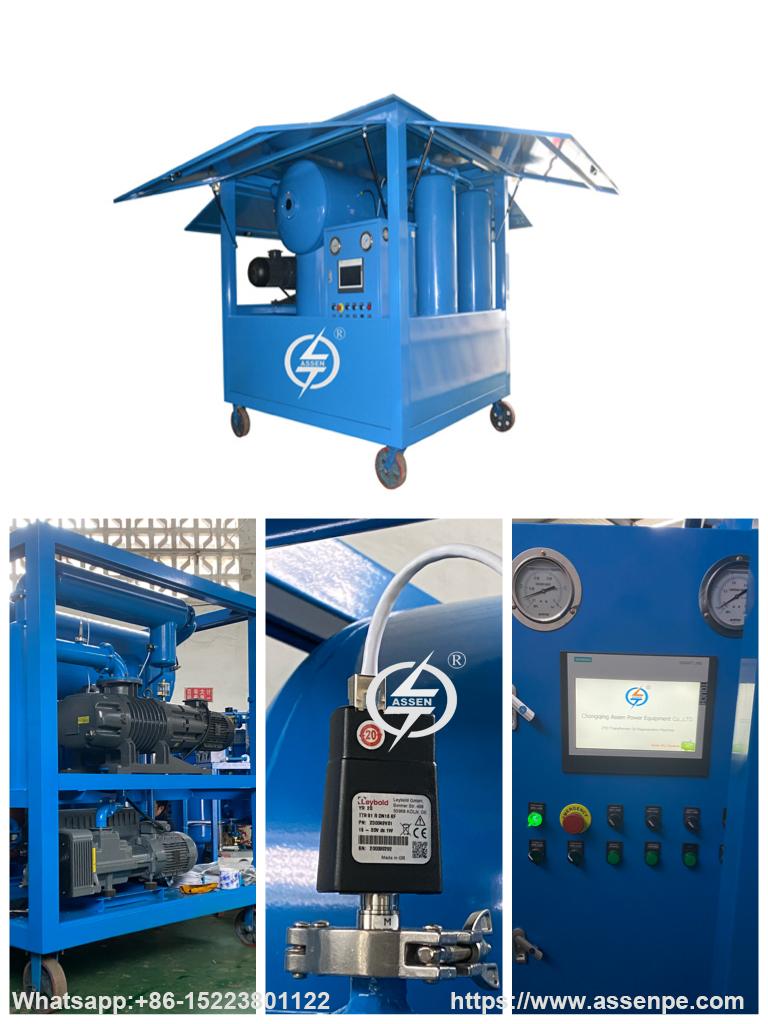 Portable High Vacuum Transformer Oil Filtration Machine,Oil Purifier Manufacturer