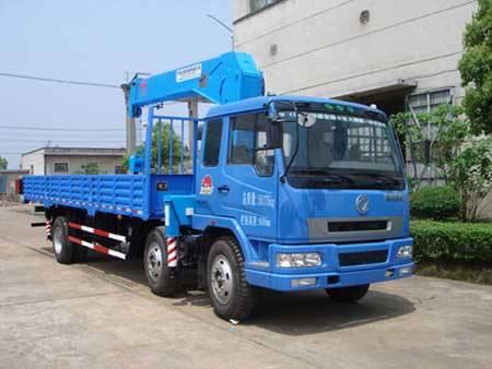 3-axles 6.3t Truck with Crane
